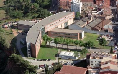 Imatge aèrea del Campus de la UAB a Sabadell | Cedida