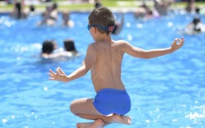 L'estona a la piscina és un dels moments més desitjats als Casals d'Estiu | Roger Benet