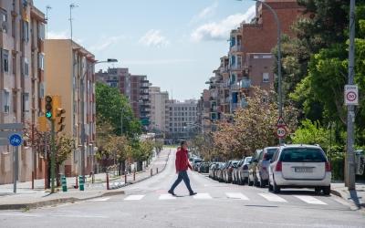 L'avinguda de la Concòrdia, sense trànsit | Roger Benet