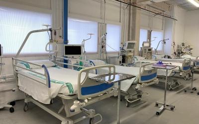 Imatge de la nova planta d'Urgències/ Taulí