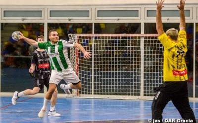 Quim Vaíllo, en un partit aquesta temporada amb l'OAR Gràcia | jas - OAR Gràcia