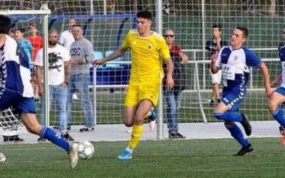 Vallès en el derbi a Olímpia contra el Sabadell | JM Guarch (Mercantil)