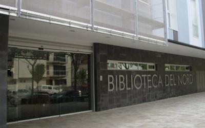 La Biblioteca del Nord, actualment, és tancada al públic encara | Arxiu