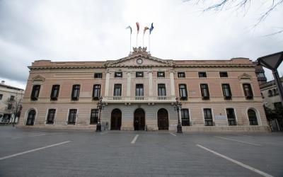 Exterior de l'Ajuntament de Sabadell/ Roger Benet