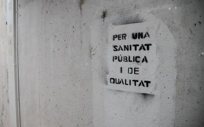 Pintada al carrer a Sabadell | Roger Benet