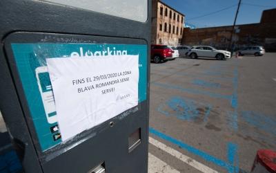 La Zona Blava de Sabadell era gratuïta des del passat 16 de març | Roger Benet