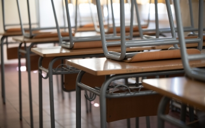 Imatge d'una aula buida | Roger Benet