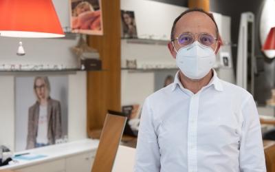 Josep Maria Porta, president de la comissió de Comerç de la Cambra de Sabadell | Roger Benet