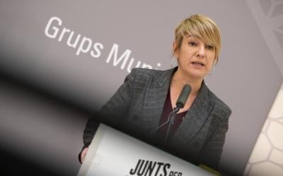 Lourdes Ciuró, portaveu de Junts/ Roger Benet