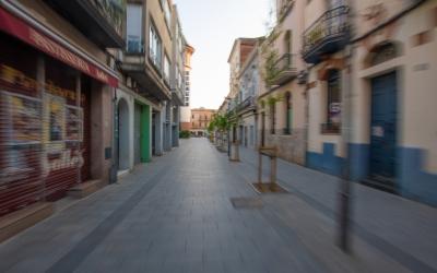 Els carrers de la ciutat s'han quedat completament desert durant els dos mesos de confinament | Roger Benet