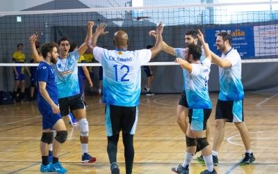 El Club ha ascendit de categoria després d'acabar tercer classificat | CNS Vòlei