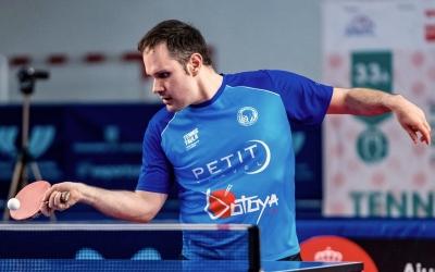 Jordi Morales, en un partit amb el Club | CNS Tennis Taula