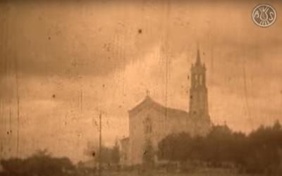 Fotograma del vídeo de l'Aplec de 1934 | Arxiu Històric de Sabadell
