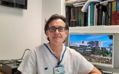 Imatge del doctor Jorge Romaní, que ha liderat la investigació