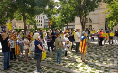 Final de la concentració al Racó del Campanar | Helena Molist