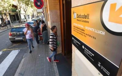 Imatge del Servei d'Atenció Ciutadana, al carrer Indústria, on hi ha l'OMIC | Arxiu
