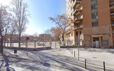 Imatge del pati de l'Institut Joan Sallarès i Pla | Arxiu