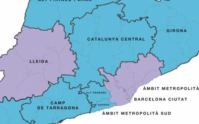 Mapa sobre la proposta de Salut a partir de l'1 de juny | Departament de Salut