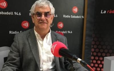 Jesús Viñas, director dels Serveis Territorials d'Educació, en una entrevista a Ràdio Sabadell
