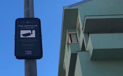 L'Ajuntament va instal·lar quatre càmeres de seguretat al barri