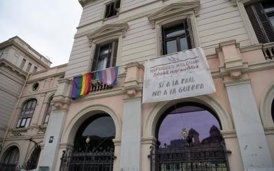 El Ple rebutja la prohibició del TS d'exhibir banderes no oficials | Roger Benet