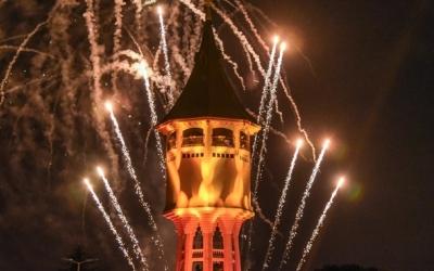 Castell de focs en motiu del centenari de la Torre de l'Aigua | Roger Benet