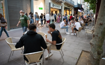 Carrers plens a Sabadell en el primer dia de la fase 1 | Roger Benet
