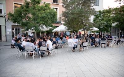 Les terrasses de Sabadell plenes en plena fase 1 | Roger Benet
