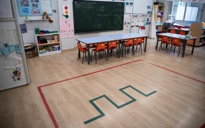 Uns 450 alumnes de P3 a P5 s'han apuntat a la reobertura de les escoles | Roger Benet