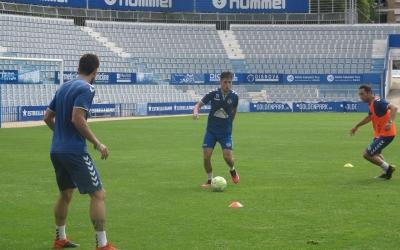 El Sabadell s'ha pogut entrenar amb grups de fins a 10 jugadors | CE Sabadell