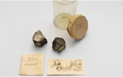 Els fragments del meteorit es podran veure a l'Institut Botànic de Barcelona | Cedida