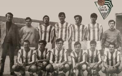 L'històric equip del Gràcia que va assolir l'últim ascens a Divisió d'Honor | OAR Gràcia