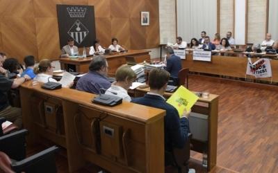 L'oposició valora el primer han de govern Farrés | Roger Benet