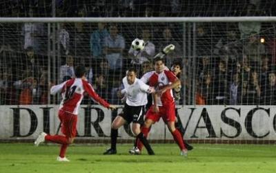 Imatge de la famosa acció del gol fantasma de Joel | Cedida