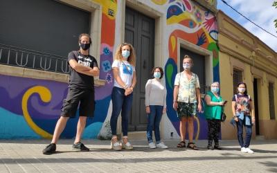 Presentat el primer grafit dedicat a la diversitat sexual i de gènere de la ciutat | Pau Duran