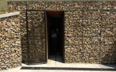 Entrada a les restes de l'aqüeducte, a Can Gambús | Helena Molist