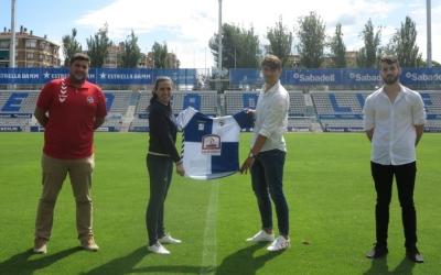 Raposo va ser presentat fa uns dies | CE Sabadell