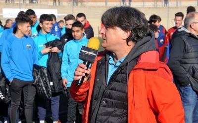 Jordi Grané, en la presentació d'equips del Mercantil d'aquesta temporada |