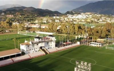Vista aèria de les instal·lacions de Marbella Football Center | marbellafootballcenter.com