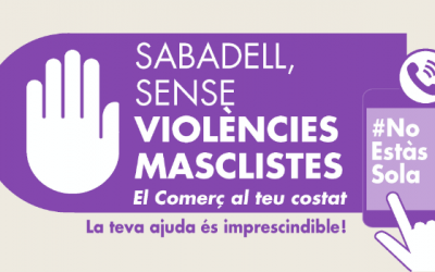 L'Ajuntament busca la complicitat de 2.500 comerços contra la violència masclista | Cedida
