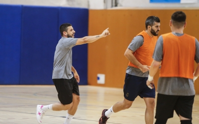 L'equip sabadellenc ha decidit suspendre l'entrenament d'avui | FCF