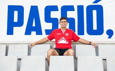 Hidalgo, assegut a la tribuna baixa de la NCA | Roger Benet