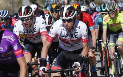De la Cruz disputarà el seu segon Tour en un mes | UAE Team Emirates
