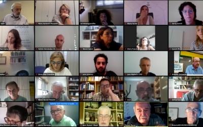 Trobada entre l'alcaldessa i Sabadell Cercle d'Entitats | Cedida