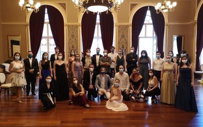 Els finalistes de la primera prova sel.lectiva del Concurs Mirna Lacambra  | Cedida