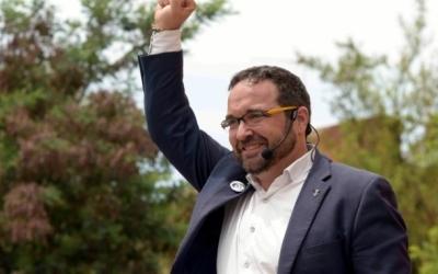 Juli Fernàndez va entrar a l'Ajuntament com a regidor el 2015, quan va ser escollit alcalde | Roger Benet