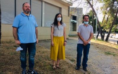 Joan Mena, Isabel Franco i Edu Navarro abans de l'acte | Helena Molist