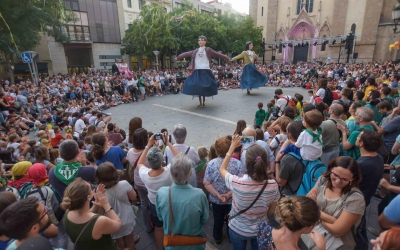 Un dels actes de la Festa Major de 2019 | Roger Benet
