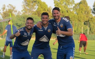 Romero, Cuevas i Pajarero, els tres andalusos de la plantilla | CES