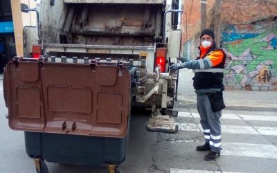 Un dels serveis especials del Consorci durant el coronavirus | Consorci de Residus del Vallès Occidental